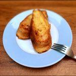 朝食にぴったり♪甘くないフレンチトーストにはまっています。わが家流レシピ&ゆるく砂糖なし生活の話。