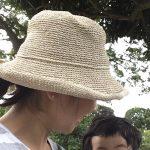 【宇津木式スキンケア】初夏の紫外線対策。今年も日焼け止めなしでいきます。sasawashi帽子さんよろしくです♪