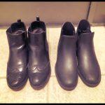 靴は機能やデザインがかぶってないかチェック。サイドゴアブーツを断捨離して1足にしぼりました
