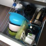 キッチン作業台下の断捨離。子どもの思わぬトラブルも掃除や整理整頓のチャンスに!