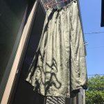 リネンの洗濯、実はとっても簡単!【ぬれ干し】でお手軽シワ予防が断然おすすめです