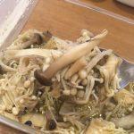 無限キノコの作り方。レンジと保存容器でぱぱっともう1品!無限に食べられるおいしさです